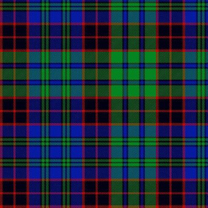 "Stewart old tartan, 6"", modern colors"