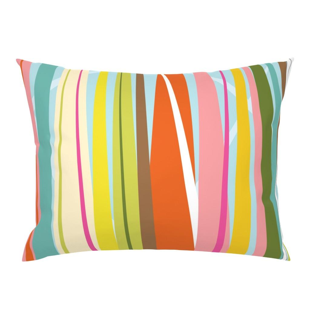Campine Pillow Sham featuring Dance All Day- skirt pattern by katrinazerilli