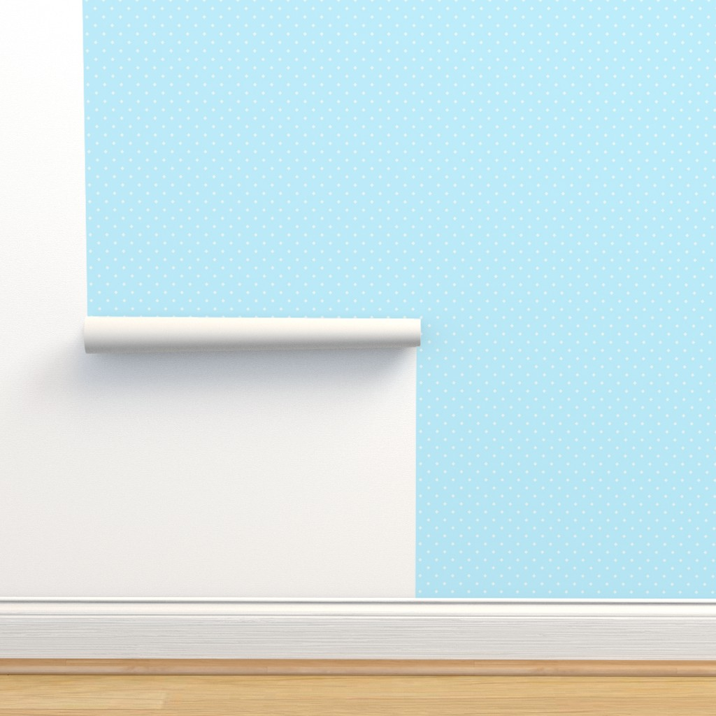Isobar Durable Wallpaper featuring Pixel Diamonds - Blue by thewellingtonboot