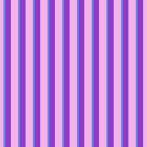 Cutie Moons Purpley Stripes