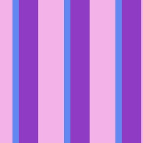 Cutie Moons Purpley Stripes - Jumbo