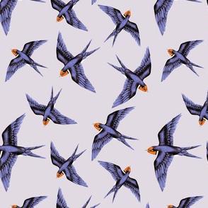 Swooping Swallow in Lavender Haze // standard