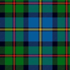 "MacLeod of Harris / green MacLeod / MacLeod hunting tartan, 6"" modern colors"