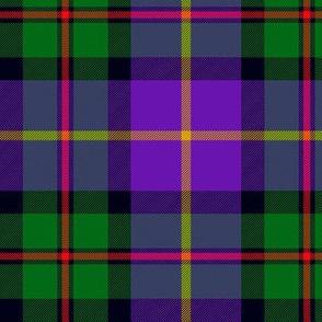 "MacLeod of Assynt, 6"" modern green/purple"