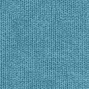 Sailor's blue sweater faux knit