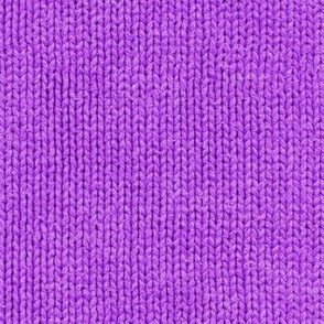 mad purple faux sweater knit