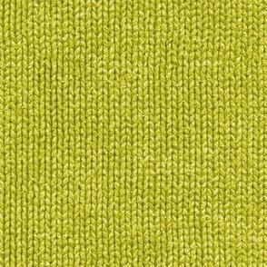 wasabi green faux knit