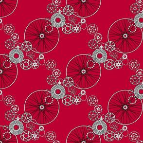 Beautiful bicycle parts - small - lipstick - BC0032