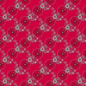 Beautiful bicycle parts - tiny - apple - CC003D