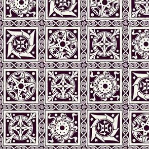 Elvish Heraldry (Purple)