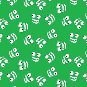 Alphabuds Monster Grins, Green