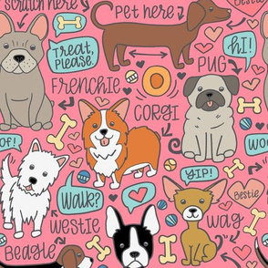 Dog Party! pink
