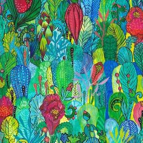 Opulent garden