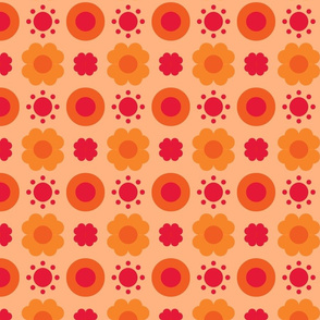 Geo Poppy Sunshine-ch