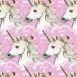 unicorns - pink