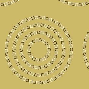 Optical Illusion: Ocher Yellow