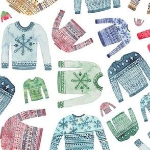 Christmas Scandinavian Winter Jumpers
