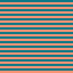 Harvest Moon and Teal Moon Stripes