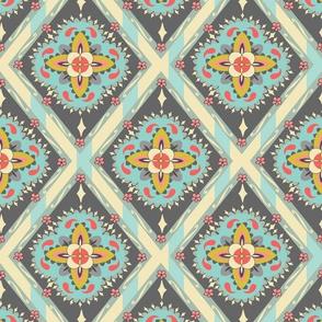 Bohemian Tile - Oat