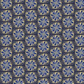 yoyoyoyo hip hop blue square pinwheels