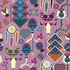 Bohemian&Tribal (Prune)