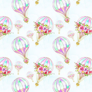 Watercolour Balloons