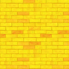 "Wizard of Oz - Yellow Brick Road Larger (Each brick is about 3"" wide x 1"" tall)"