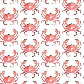 Crab Red Nautical Small