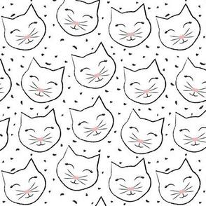 Pretty Kitty Black Confetti