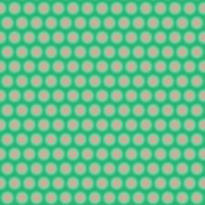 Silver Mint Polka Dot