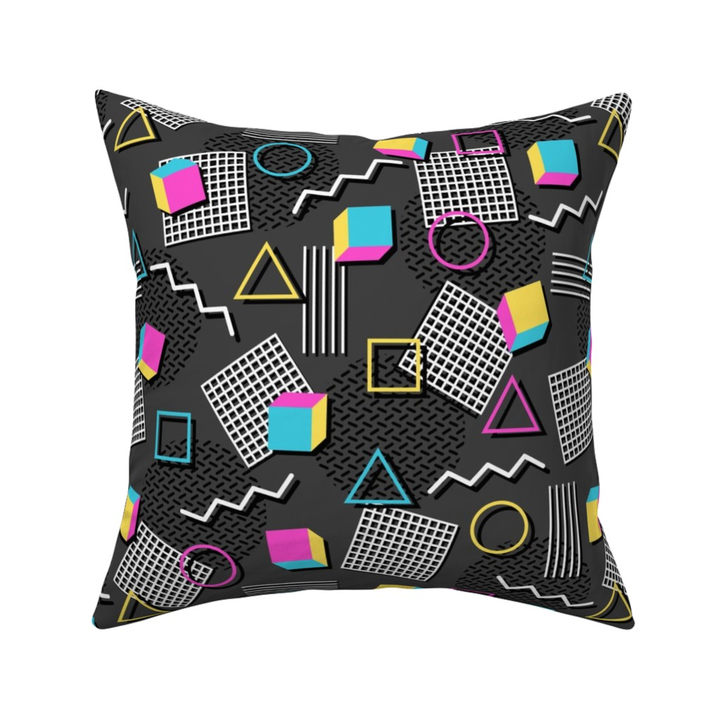 Catalan Throw Pillow featuring Welcome to the 90's by robyriker