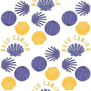 Scallop Shells from the Camino