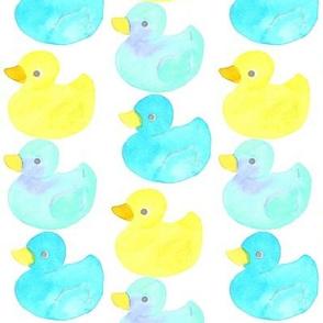 rubber ducky blue