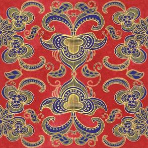 Boho arts and crafts style
