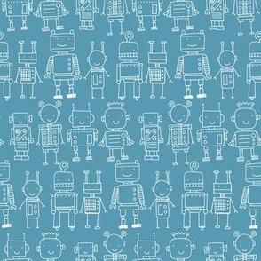 Robot - blue