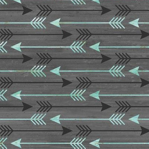 Arrows in Blue and Gray