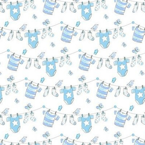 baby clothes - blue