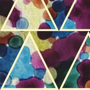 Bohemian Triangles (Watercolor)
