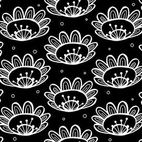 Pollen (in Black & White) - by Kara Peters