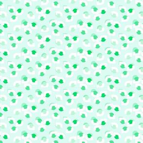 Leafy Eyes Green