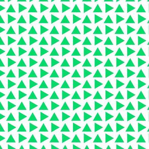 Teeny pointy green