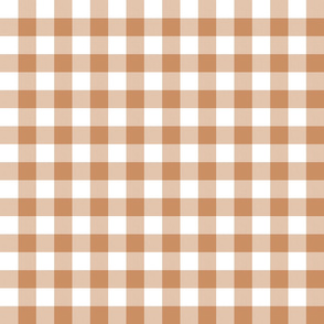 "1"" Butterum Gingham"