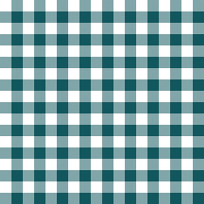 "1"" Shaded Spruce Gingham"