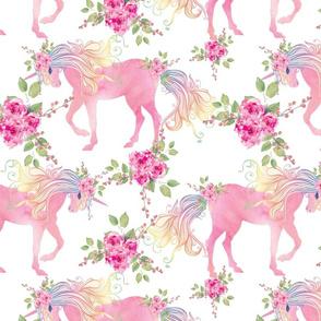 unicorn floral  90