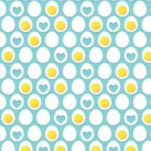Eggs and hearts