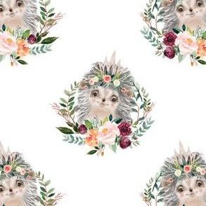 """Paprika floral hedgehog 3"""""""