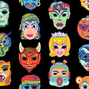 Halloween Masquerade 2 in Midnight Black