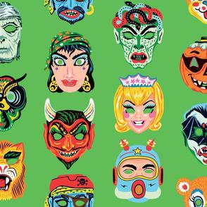 Halloween Masquerade 2 in Mystic Green