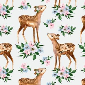 baby deer fabric 90