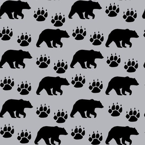 Bear_Paws_Grey Black Silhouette1